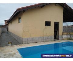 Vendo linda casa com piscina lado praia