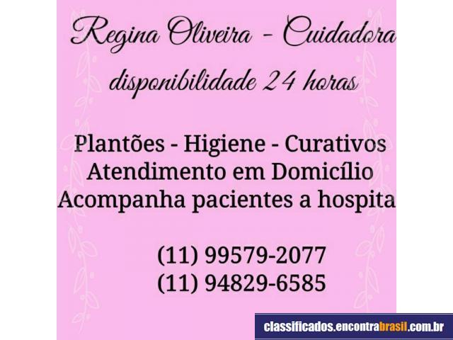 Regina Oliveira - Cuidador de Idosos