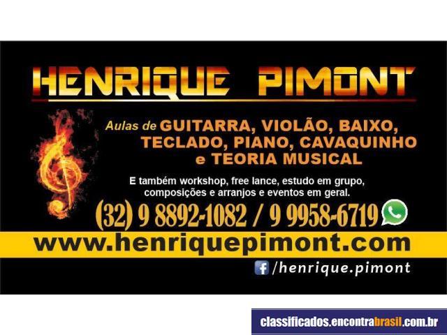 Henrique Pimont - Aulas de Música