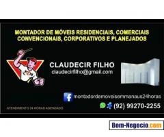 Montador de móveis Claudecir Filho