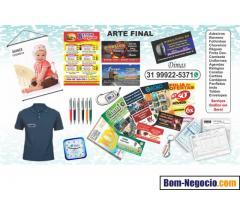 Arte Final, Panfletos, Banners e Estampas