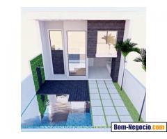Vende-se Terreno com 153m2 - Construção para Casa com 2 Suítes Iniciada - RGI