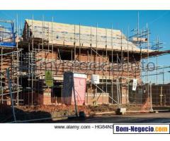 demolição forros drywall pvc e madeira e divisoria