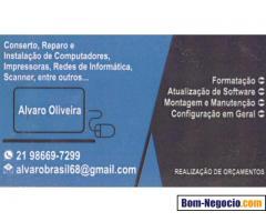 Técnico de Impressoras, Scanner, Redes e Informática