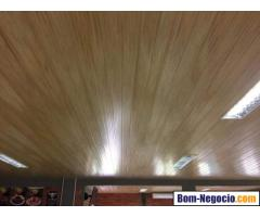 vendas e instalação forros drywall pvc e madeira em 12 vezes no cartão