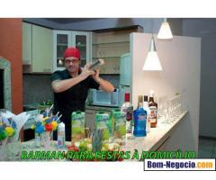 Barman para festas à domicílio em Fortaleza