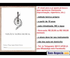 Aulas de Violão e Teoria Musical