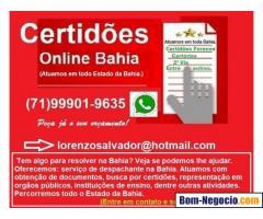 Despachante em Salvador Bahia
