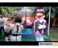 Personagem mundo Bita Para Festa Infantil BH e Regiao