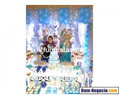 Personagens Frozen - Elsa, Anna e Olaf Para Festa Infantil BH e Regiao