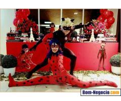 Personagem Miraculous Ladybug e Cat Noir Para Festa Infantil BH e Regiao