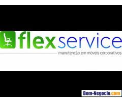 Flexservice- Manutenção em cadeiras de escritório.