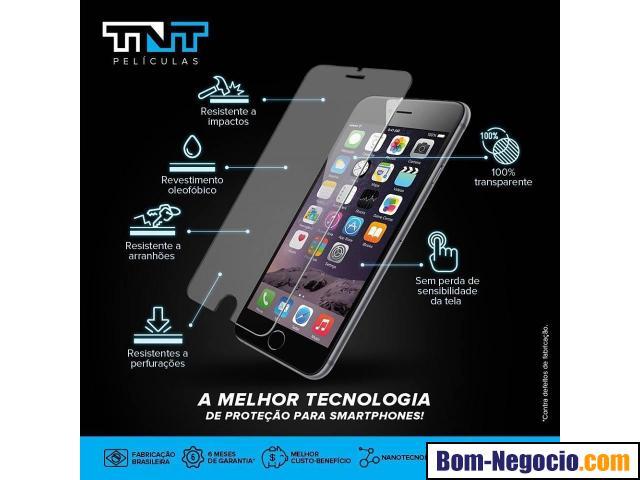 TNT Películas de Nano Gel para Celulares