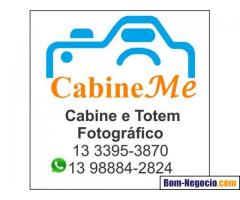 Aluguel de Cabine Fotográfica e Totem