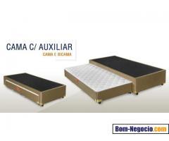 Cama com Auxiliar Cama e Bi-cama