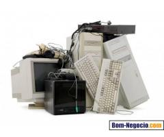 Recebo doações de computadores e notebooks