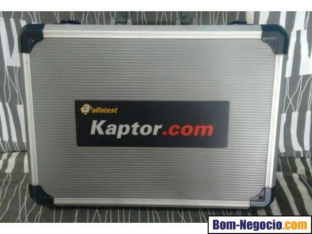 SCANNER KAPTOR.COM V1 KIT COMPLETO C/9 CABOS + MALETA