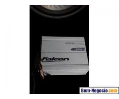 Kit de Som Subwoofer Falcon (Graves de Alta Qualidade)