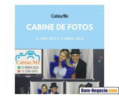 Cabine Fotográfica e Totem