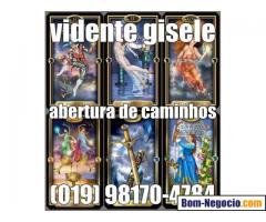 ESPIRITUAL VIDENTE GISELE EM CAMPINAS