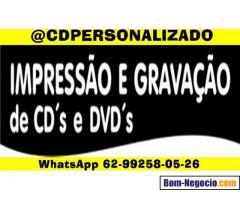 CDS PERSONALIZADOS