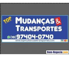 Mudanças em Santos - Top Mudanças e TRansportes - Guarda móveis em Santos