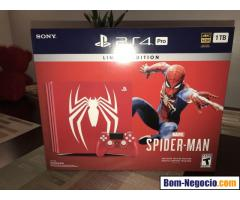 Spider Man Marvel Sony PlayStation 4 Pro Console.