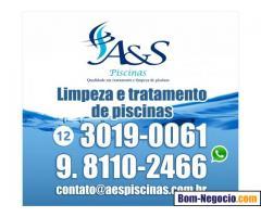 Limpeza de Piscinas Profissional São José dos Campos