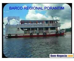 Barco com Camarotes - aluguel em manaus