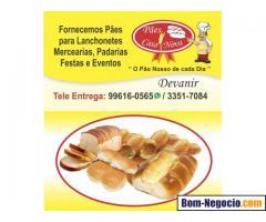 Pães para Lanchonetes, Bares, Padarias, Eventos