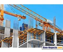 Contrato empreiteiro construtor com equipe pronta