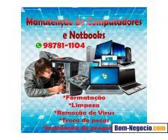 Formatação de Notebooks,Computadores salvador bahia