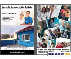 Casa de Repouso, passo o ponto já com 5 pacientes e equipe de trabalho