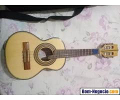 Cavaquinho Carlinhos Luthier Nº2 Imbuia Tampo em Pinho Semi Novo