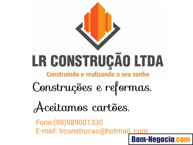 LR CONSTRUÇÃO LTDA