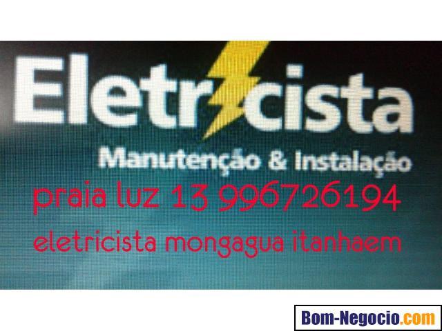 eletricista itanhaem  mongagua  13 996726194