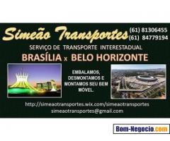 MUDANÇAS BRASÍLIA X BELO HORIZONTE