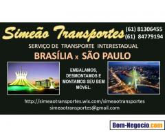MUDANÇAS BRASÍLIA X SÃO PAULO