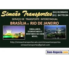 MUDANÇAS BRASÍLIA X  RIO DE JANEIRO