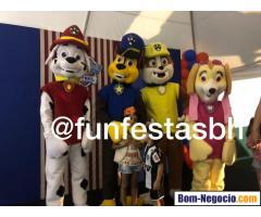 Patrulha Canina Para Festa Infantil BH e Regiao
