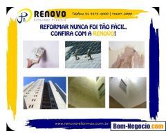 Reforma e Limpeza de Fachadas Renovo Reformas Prediais em Belo Horizonte