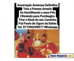 Amarração amorosa infalível feitiço e magia garantia total Whatsapp 071996598977