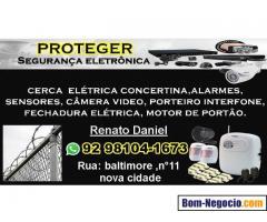Proteger segurança eletronica manaus