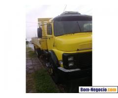 Vendo Lindo caminhão MB 1113 carroceria aberta, bem conservado - 1986