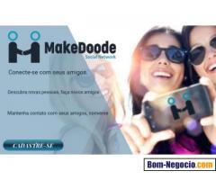 MakeDoode Rede Social Brasileira
