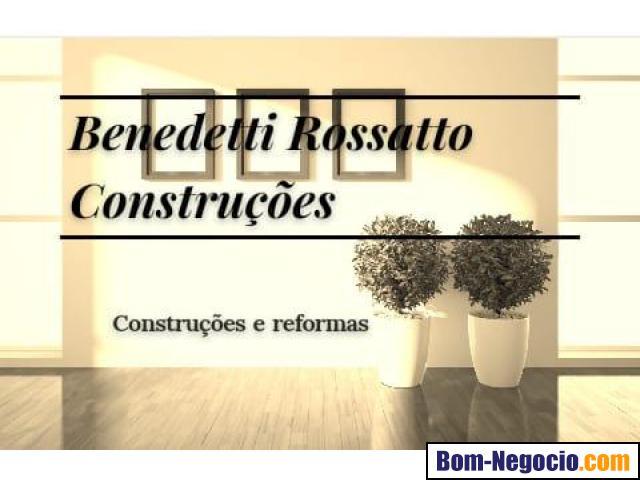 Benedetti Rossatto Construções - Construções, Reformas e Manutenções