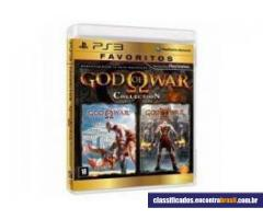 Vendo Jogo Game God Of War PS3 novo