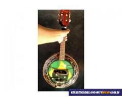 Vendo Banjo Marquês Elétrico Marrom Couro - BC 03