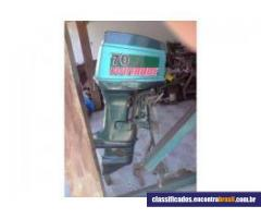 Vendo Lancha 17 motor 70 hp p reforma AC MOTO CUSTOM