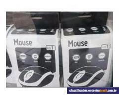 Vendo Mouse Multilaser Óptico Usb Preto Mo130 - lote 7 unidades